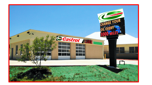 Castrol Lube 3-bay Center