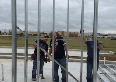 Building Panel Installation
